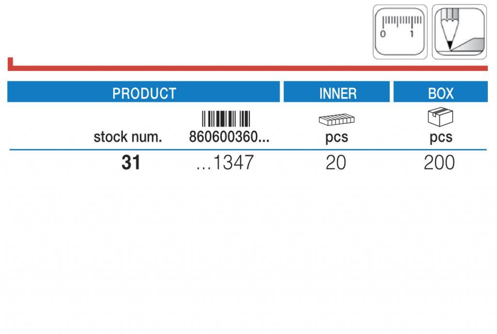 180 Uglomer u blister pakovanju / Blister protractor