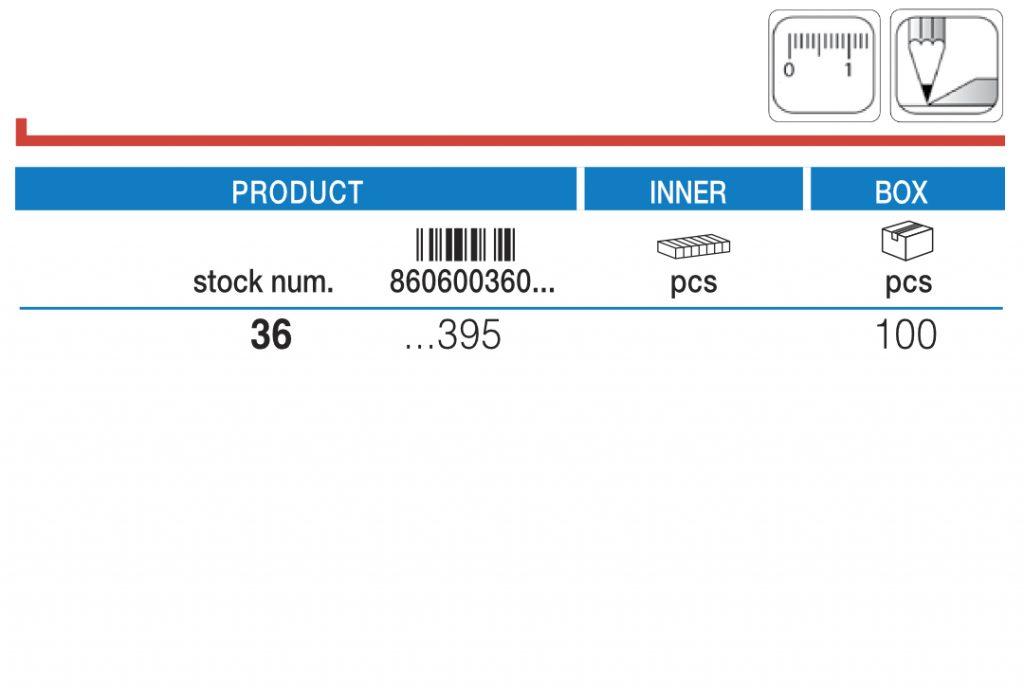 360 Uglomer u blister pakovanju / Blister protractor