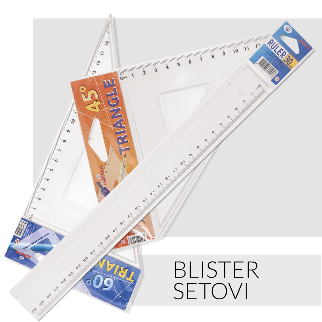 BLISTER SETOVI LENJIRA