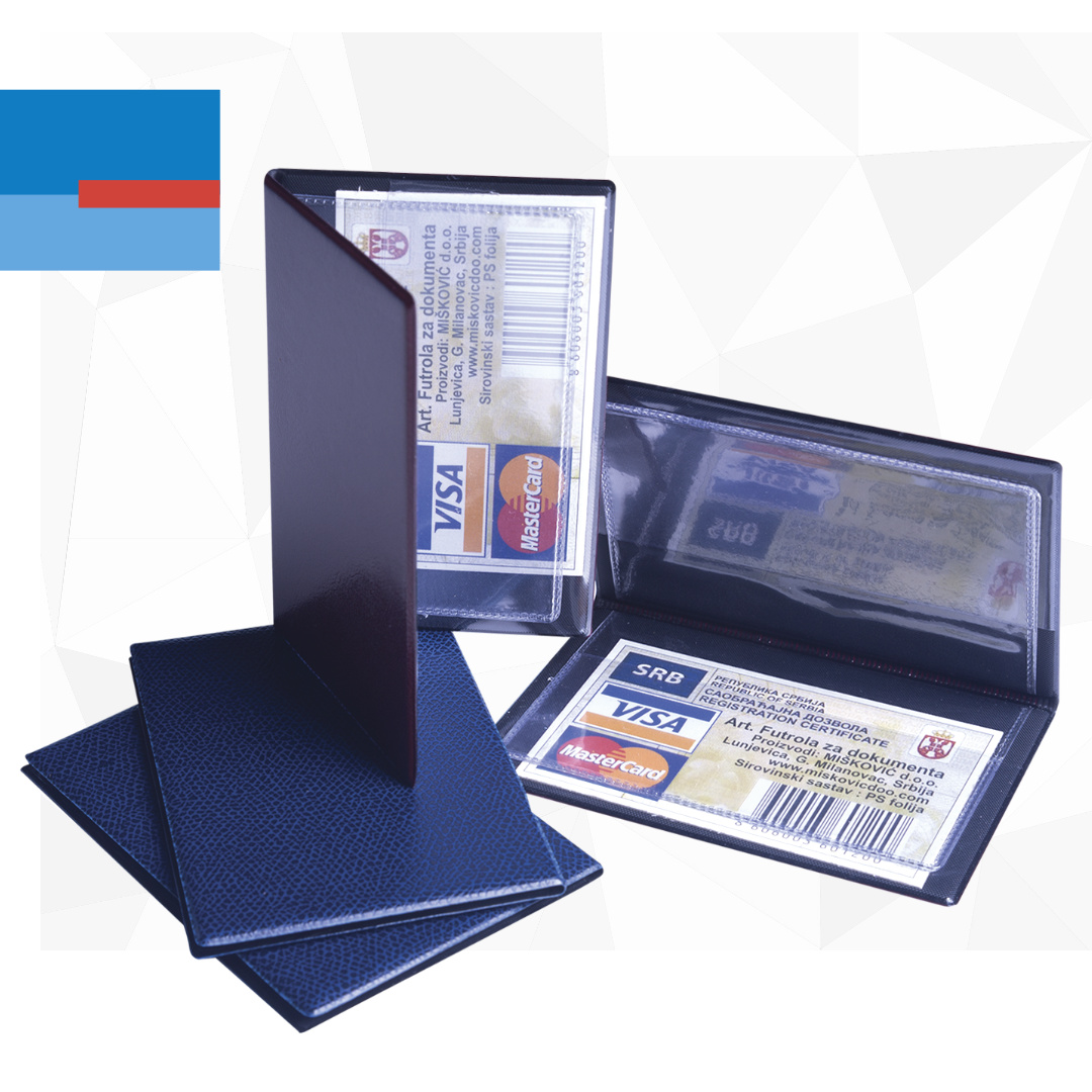 Plastične korice za lična dokumenta i platne kartice