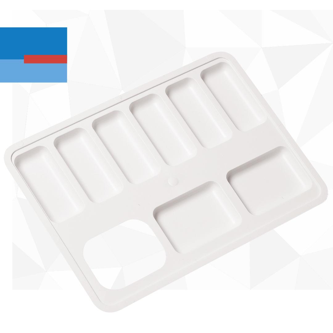 Plastična mini paleta za slikanje