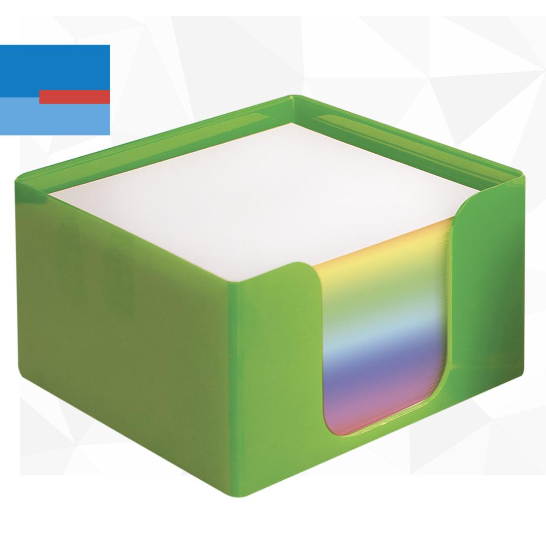 školski pribor kutija papira za beleške u raznim bojama